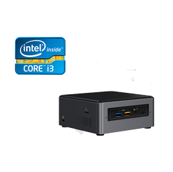 Mini PC DBS Intel® NUC7i3BNH c/suporte de HDD 2,5""