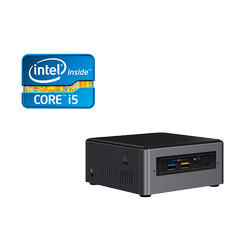Mini PC DBS Intel® NUC7i5BNH c/suporte de HDD 2,5""