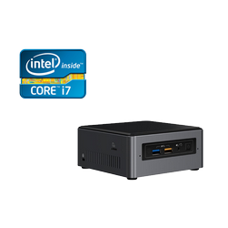 Mini PC DBS Intel® NUC7i7BNH c/suporte de HDD 2,5""